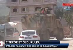 PKKlılar hastaneyi bile bomba ile tuzaklamışlar