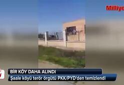 Şaale köyü terör örgütü PKK/PYDden temizlendi