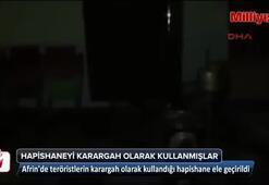 PKKnın karargah olarak kullandığı hapishane ele geçirildi