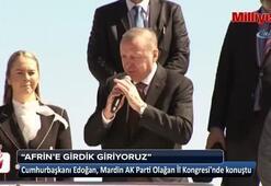 Cumhurbaşkanı Erdoğan: Artık an meselesi Girdik giriyoruz