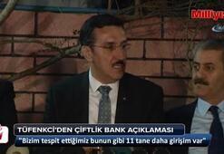 Bakan Tüfenkciden Çiftlik Bank açıklaması