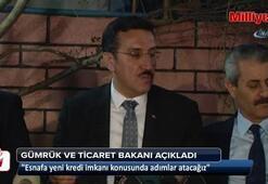 Bakan Tüfenkci: Esnafa yeni kredi imkanı konusunda adımlar atacağız