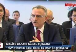 Maliye Bakanı Naci Ağbaldan açıklama geldi