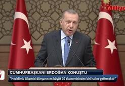 Cumhurbaşkanı Erdoğan, 46. Muhtarlar Toplantısında konuştu