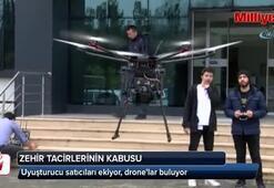 Uyuşturucu satıcıları ekiyor, dronelar buluyor