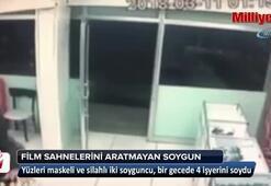 İstanbul'da film sahnelerini aratmayan soygun kamerada