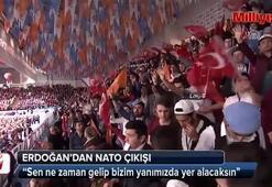 Cumhurbaşkanı Erdoğandan NATO çıkışı
