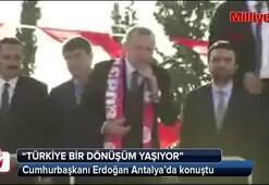 Cumhurbaşkanı Erdoğan: Türkiye bir dönüşüm yaşıyor