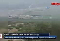 Afrinde şehirden sivillerin kaçışı hızlandı