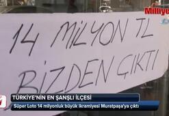 14 milyon liralık kupon, şanslı ilçe Muratpaşada yatırıldı