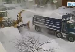 Kar böyle temizlenir