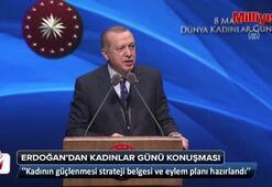 Cumhurbaşkanı Erdoğan, Dünya Kadınlar Günü Programında konuştu