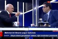 Mehmet Ali Birand yoğun bakımda