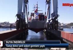 Tunus ikinci yerli askeri gemisini yaptı