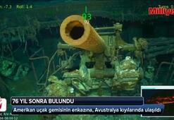 Kayıp uçak gemisi 76 yıl sonra bulundu