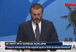 AK Parti Sözcüsü Mahir Ünaldan önemli açıklamalar