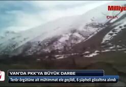 Vanda terör örgütü PKKya ağır darbe