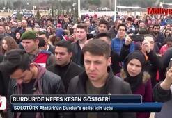 Solo Türk, Atatürk'ün Burdur'a gelişi için uçtu