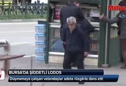 Lodos vatandaşlara dans ettirdi