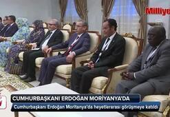 Cumhurbaşkanı Erdoğan Moritanya'da heyetlerarası görüşmeye katıldı