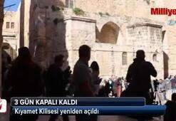 Kapanan Kıyamet Kilisesi açıldı