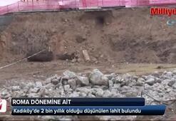 Kadıköy'de 2 bin yıllık olduğu düşünülen lahit bulundu