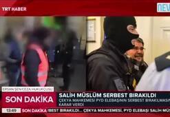 Çekya, Salih Müslimi serbest bıraktı