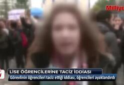 Bahçeşehir'de lise öğrencilerine taciz iddiası