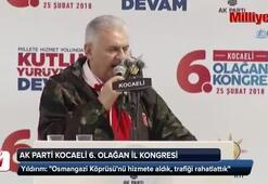 Başbakan Yıldırım: Osmangazi Köprüsünü hizmete aldık, trafiği rahatlattık