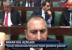 Adalet Bakanı Gül: Çocuk istismarında kimyasal hadım gündeme gelecek