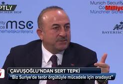 Arap Birliği Genel Sekreterine Bakan Çavuşoğlundan sert tepki
