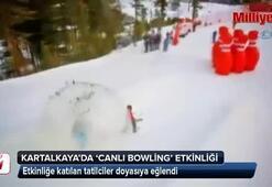 Kartalkayada canlı bowling etkiliği