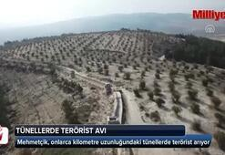 Mehmetçik tünellerde terörist avında