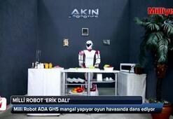 Bu robotlar mangal yapıyor, oyun havası oynuyor
