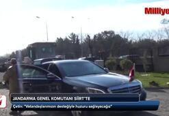 Jandarma Genel Komutanı Siirtte