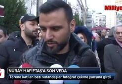 Türk halk müziği sanatçısı Nuray Hafiftaş son yolculuğuna uğurlandı