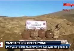 PKKya ait silah, mühimmat ve patlayıcı ele geçirildi