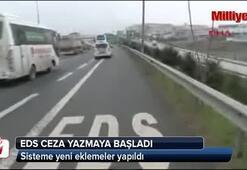 İstanbulda EDSler ceza yazmaya başladı