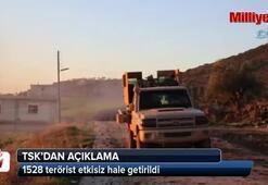TSK: 1528 terörist etkisiz hale getirildi