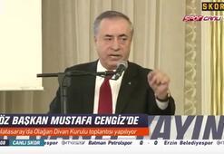 G.Saray Başkanı Mustafa Cengiz, Divan Kurulunda konuştu