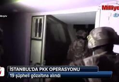 İstanbul'da PKK operasyonu: 19 gözaltı