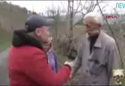 Bağırarak röportaj veren adam sosyal medyayı salladı