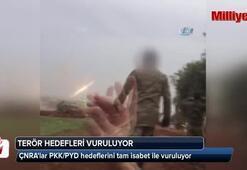 ÇNRAlar PKK/PYD hedeflerini tam isabet ile vuruluyor