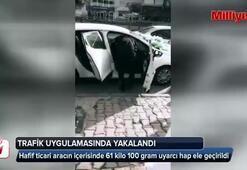 İstanbulda 61 kilo 100 gram uyarıcı hap ele geçirildi
