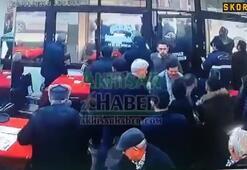 Bursaspor taraftarı maçın ardından Akhisar'daki kahveyi bastı