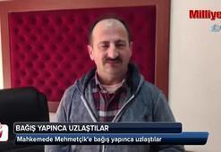 Mahkemede Mehmetçike bağış yapınca uzlaştılar