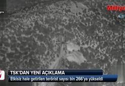 Son sayı: 1266 terörist