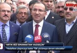 Başbakan Yardımcısı Bozdağ: Yol belli, teröre destek vermeyeceksiniz