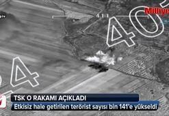 TSK, etkisiz hale getirilen terörist sayısını açıkladı