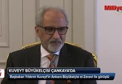 Başbakan Yıldırım Kuveyt Büyükelçisini kabul etti